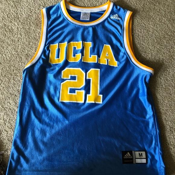 quality design 6bcd2 7add5 Adidas UCLA Bruins #21 Basketball Jersey
